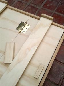 hinged back frame