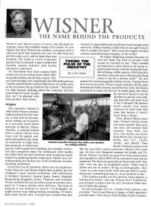 Entrevista a Ron Wisner 1/3